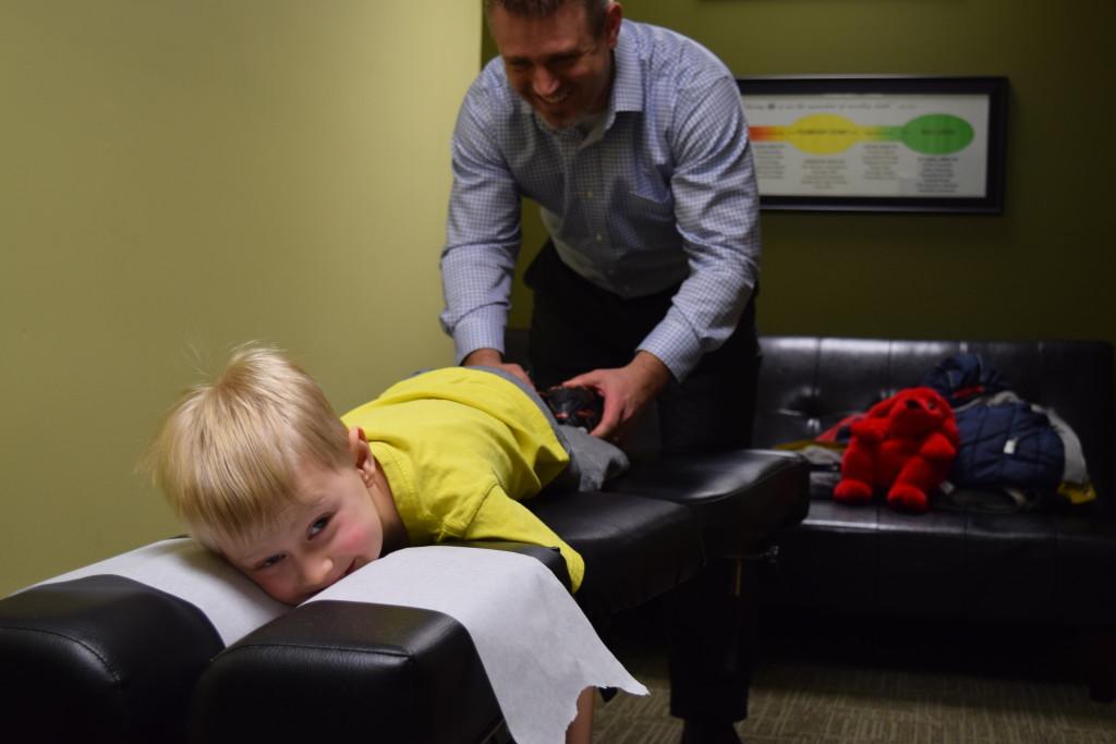 Dr. Cory Powers Adjusting Kids